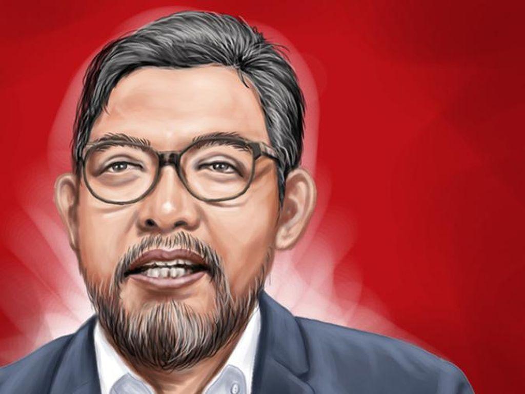 Profil Giri Suprapdiono, Direktur KPK yang Siap Debat soal Wawasan Kebangsaan