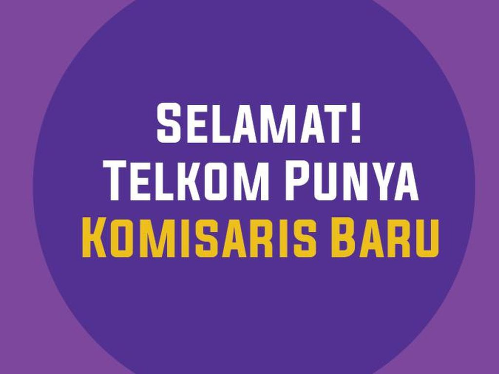Wajah Baru Komisaris Telkom: Bambang Brodjonegoro-Abdee Slank