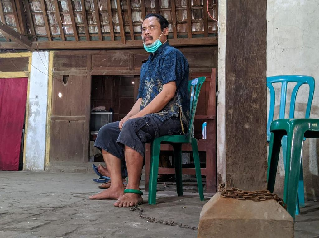 Jalani Perawatan, Seorang Warga Ponorogo Dibebaskan dari Pemasungan