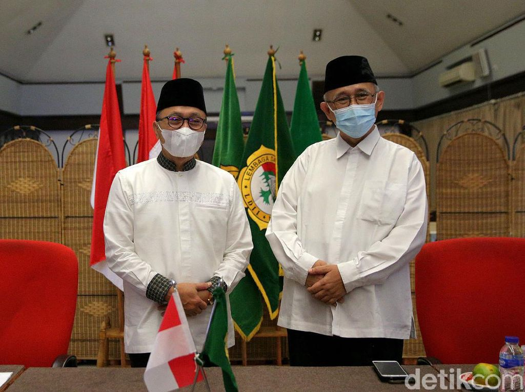 Zulkifli Hasan Bertemu Ketua LDII