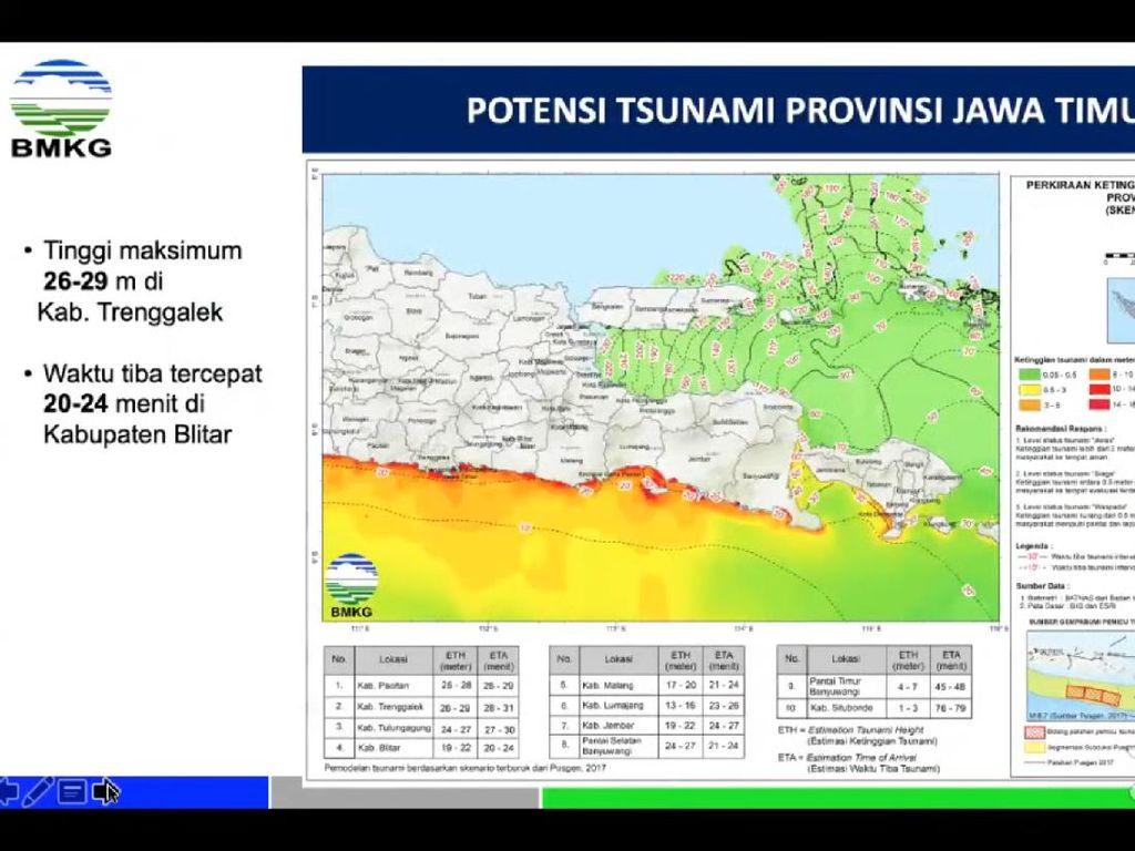 Ada Potensi Tsunami di Jawa Timur, Pakar ITS Ajak Masyarakat Belajar Mitigasi
