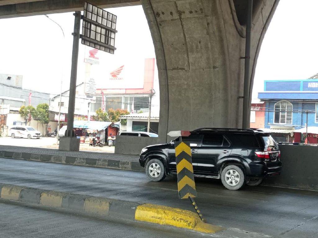 Rambu Pembatas di Jl Cilincing Raya Diharap Bisa Kurangi Kecelakaan