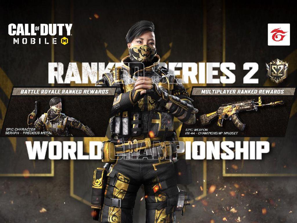 Ranked Series Baru Call of Duty: Mobile Dimulai, Yuk Push Rank Lagi!