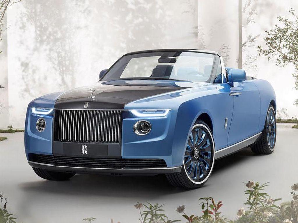 Potret Rajanya Mobil Mewah: Rolls-Royce Boat Tail yang Tak Bisa Dibeli dengan Uang
