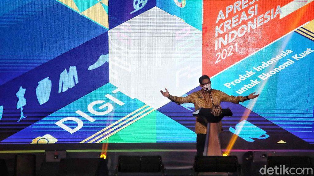Sandiaga Uno Luncurkan Apresiasi Kreasi Indonesia 2021