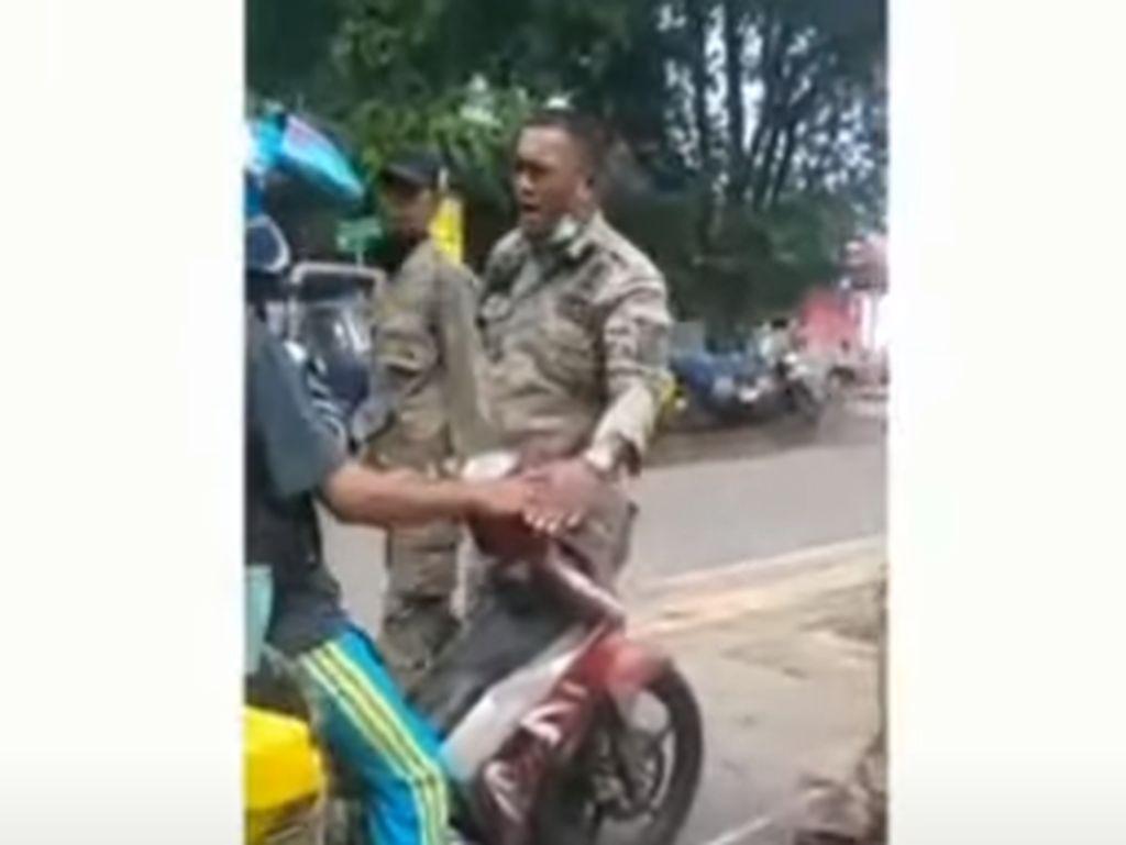 Viral Satpol PP di Sabang Tampar Pedagang, Berakhir Damai-Sanksi