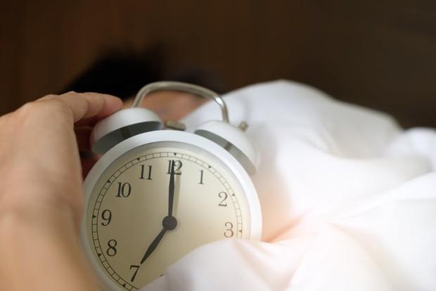 Bangun kesiangan