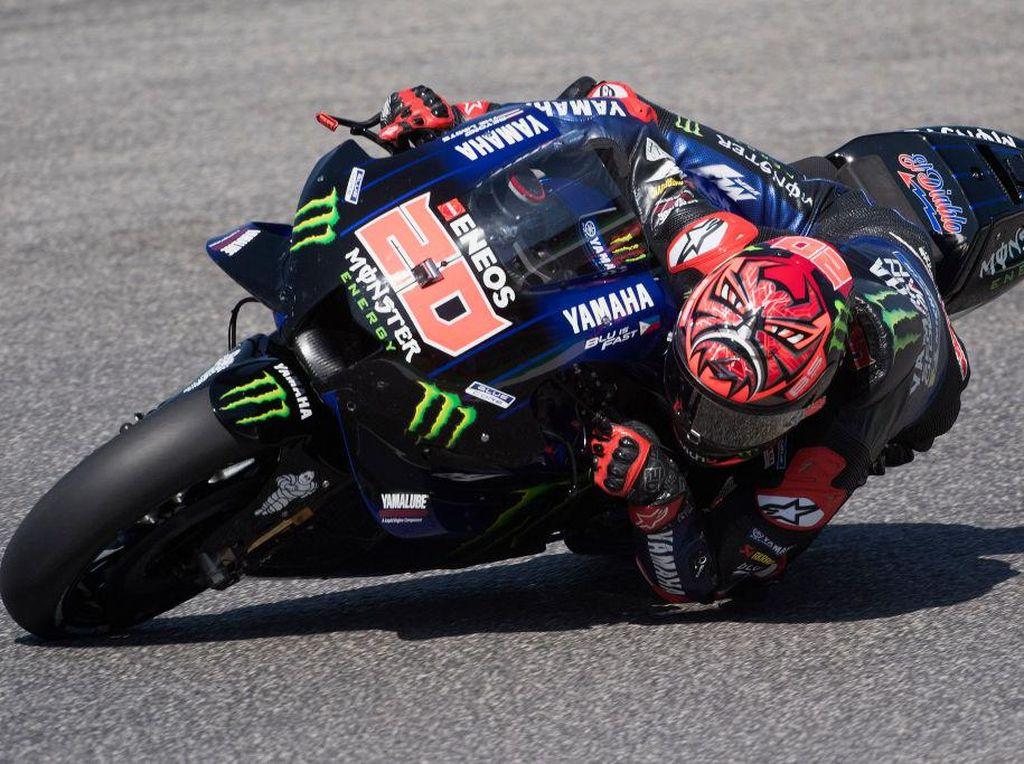 Hasil MotoGP Italia 2021: Quartararo Menang, Marquez Crash