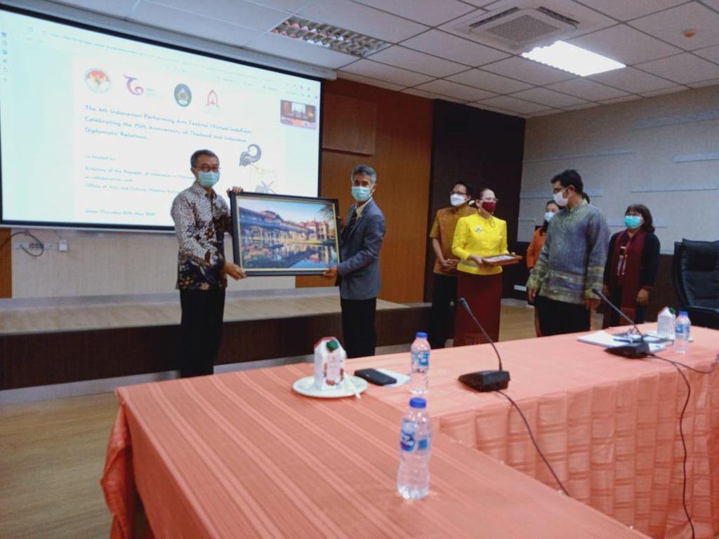 Pertama Dalam Sejarah, Festival Virtual Budaya Indonesia-Thailand