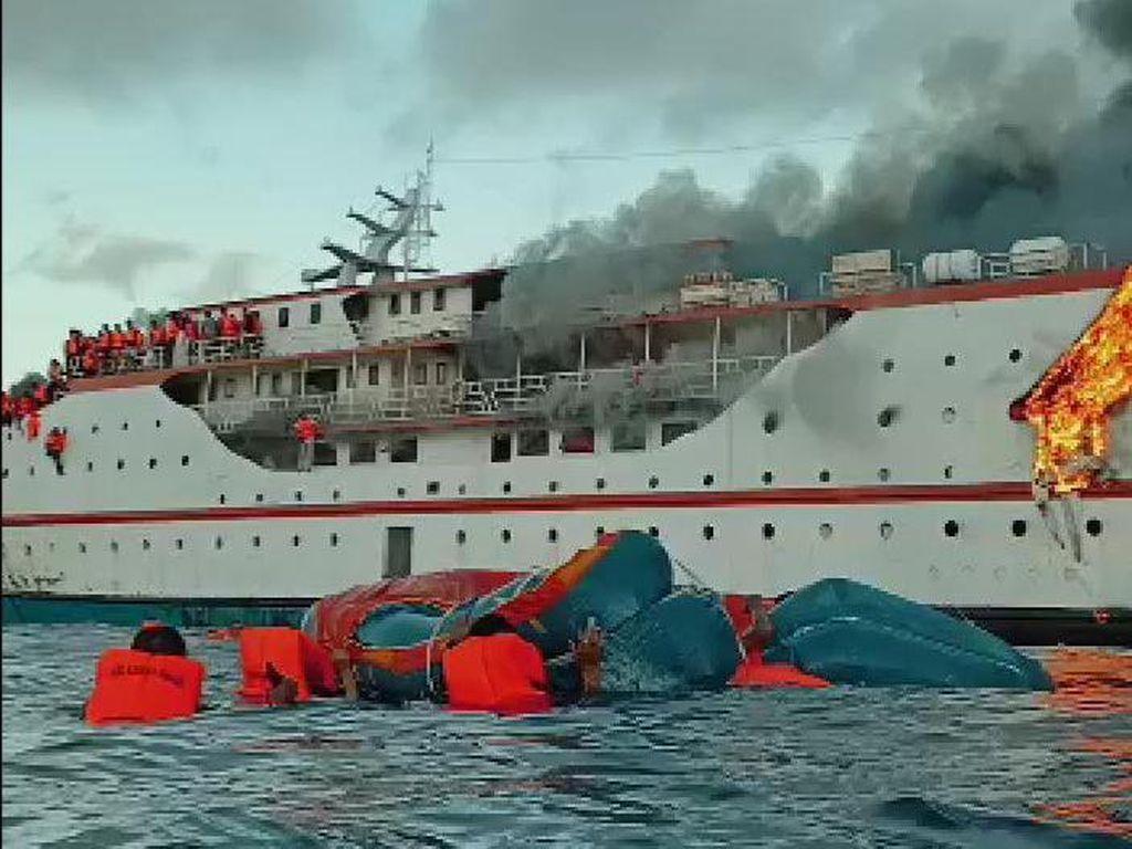 Komisi V Soroti Prosedur Pelayaran KM Karya Indah yang Terbakar