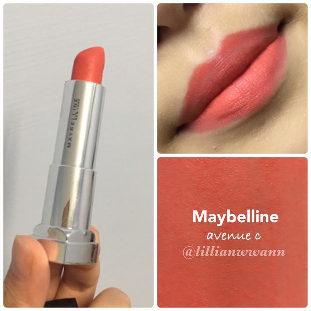 Maybelline The Powder Matte/Instagram.com/lillianwwann