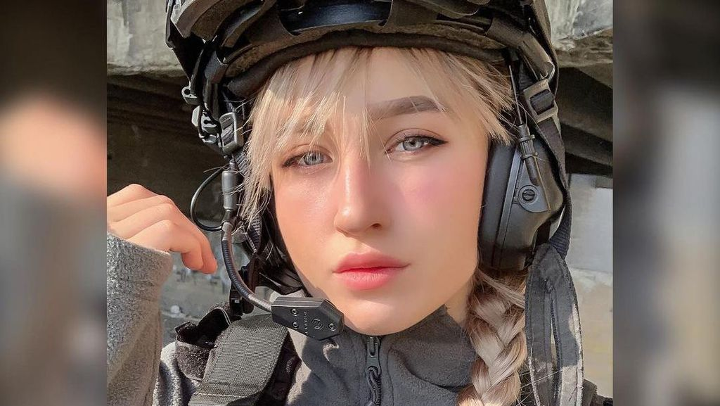 Foto Tentara Israel Cantik Bikin Terpukau, Dianggap Bikin Video Propaganda