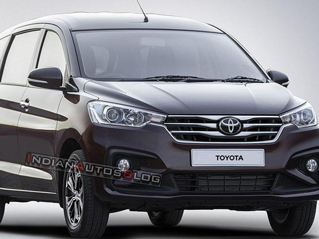 Bocor, Inilah Penampakan Mobil Baru Toyota Kembaran Suzuki Ertiga