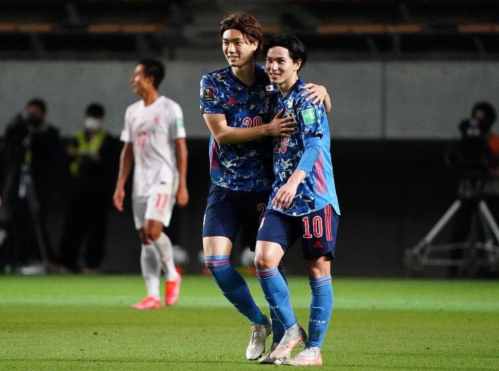 Kualifikasi Piala Dunia 2022: Jepang Bantai Myanmar 10-0!