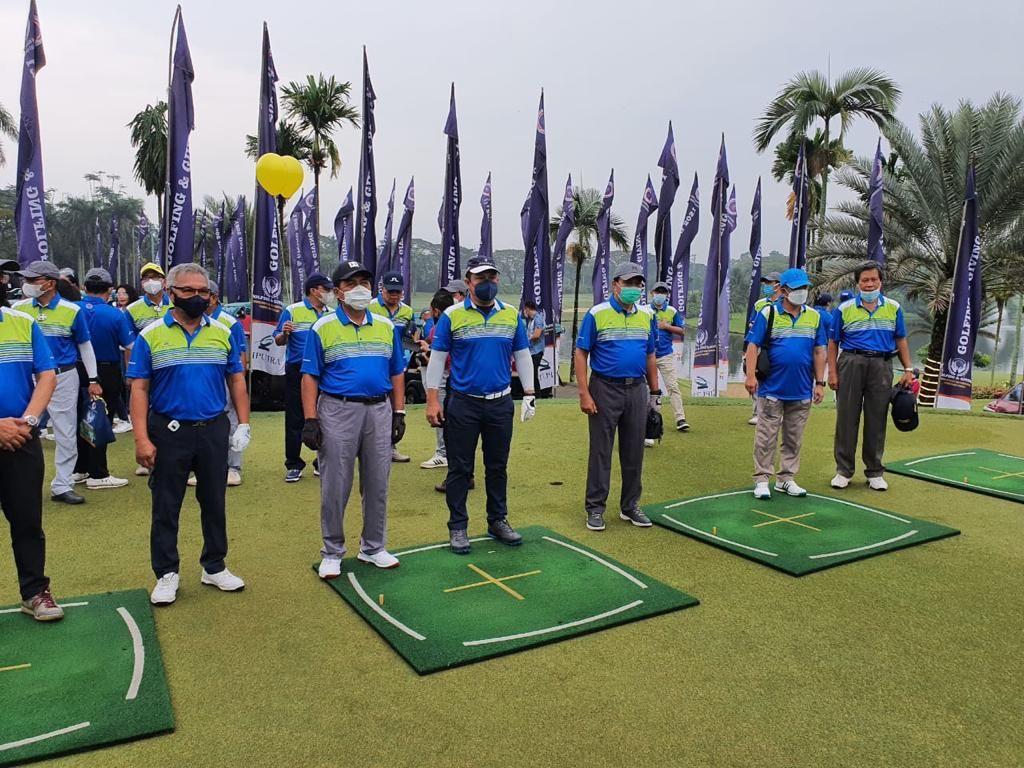 Mahfud-Erick Thohir Ramaikan Turnamen Golf IKA UII, Tito Raih Overall Best