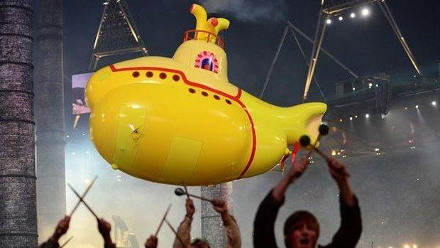 Yellow Submarine, ikon pop The Beatles yang juga menjadi julukan klub Liga Spanyol, Villarreal.