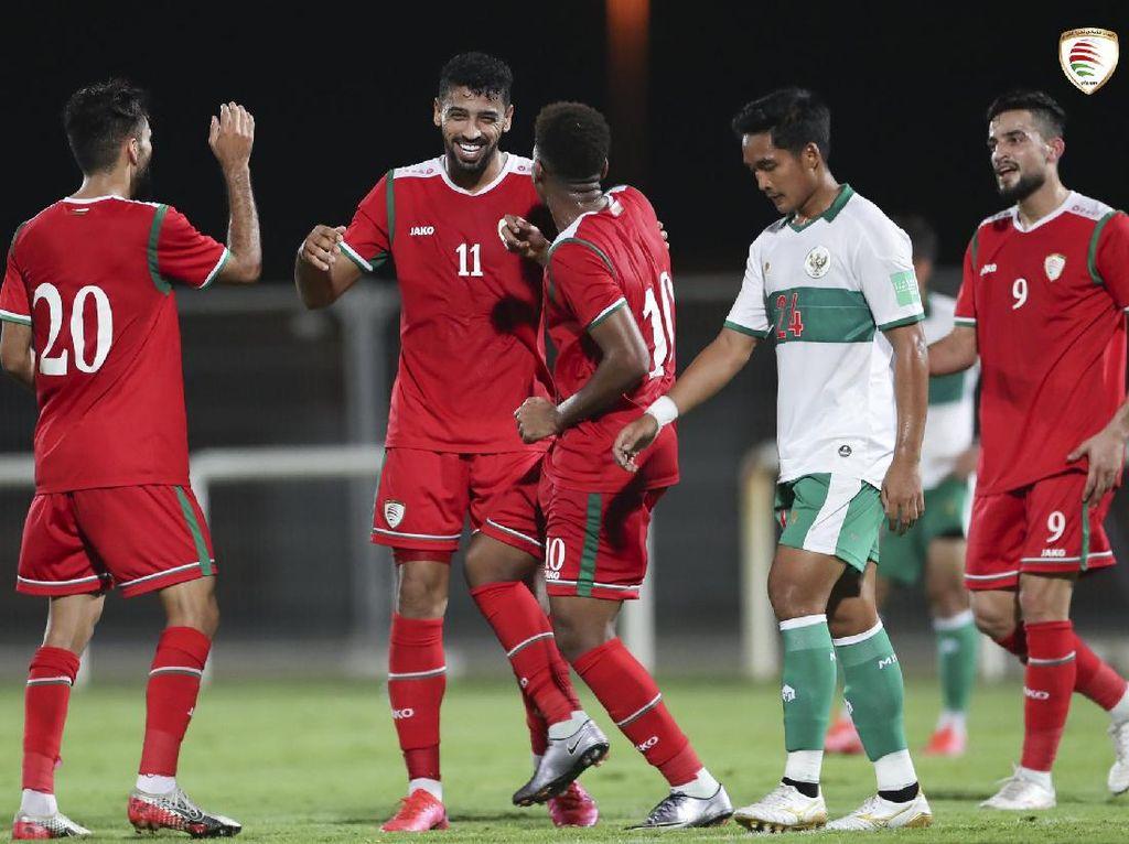 Indonesia Vs Oman: Skuat Garuda Takluk 1-3
