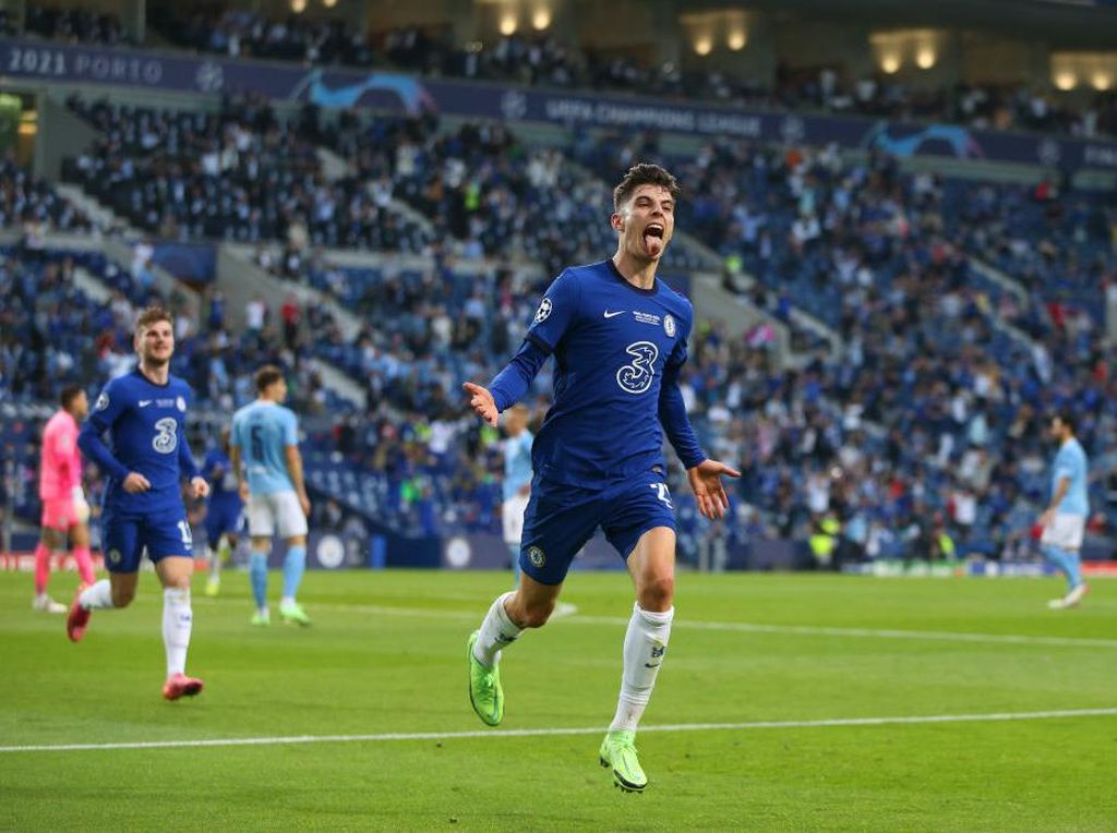 Manchester City Vs Chelsea: Havertz Bikin Gol, The Blues Juara