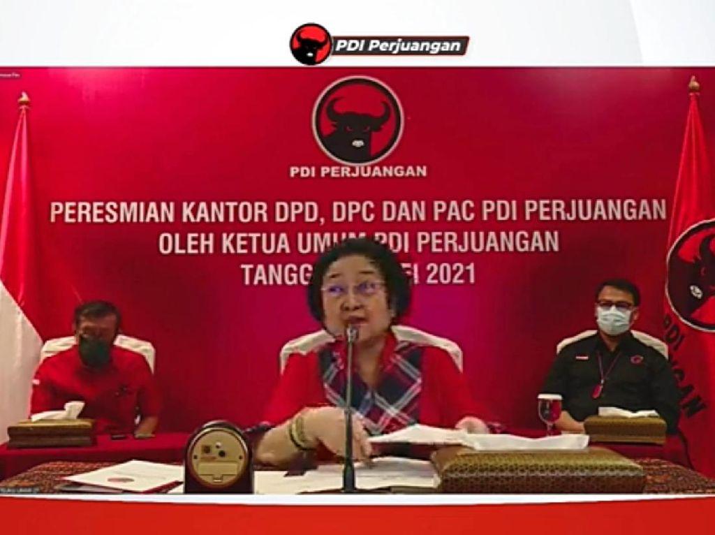 Megawati ke Petugas Partai: Harus Nurut Apa yang Ditugasi Partai