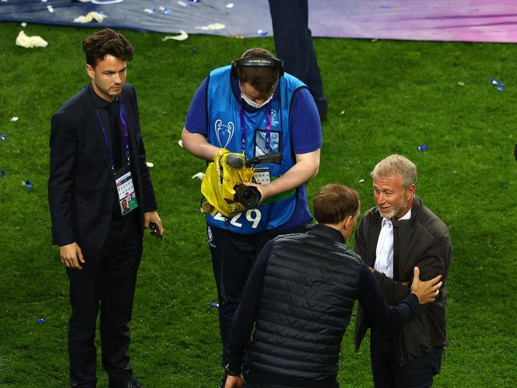 Chelsea Juara Liga Champions, Tuchel Akhirnya Ketemu Abramovich