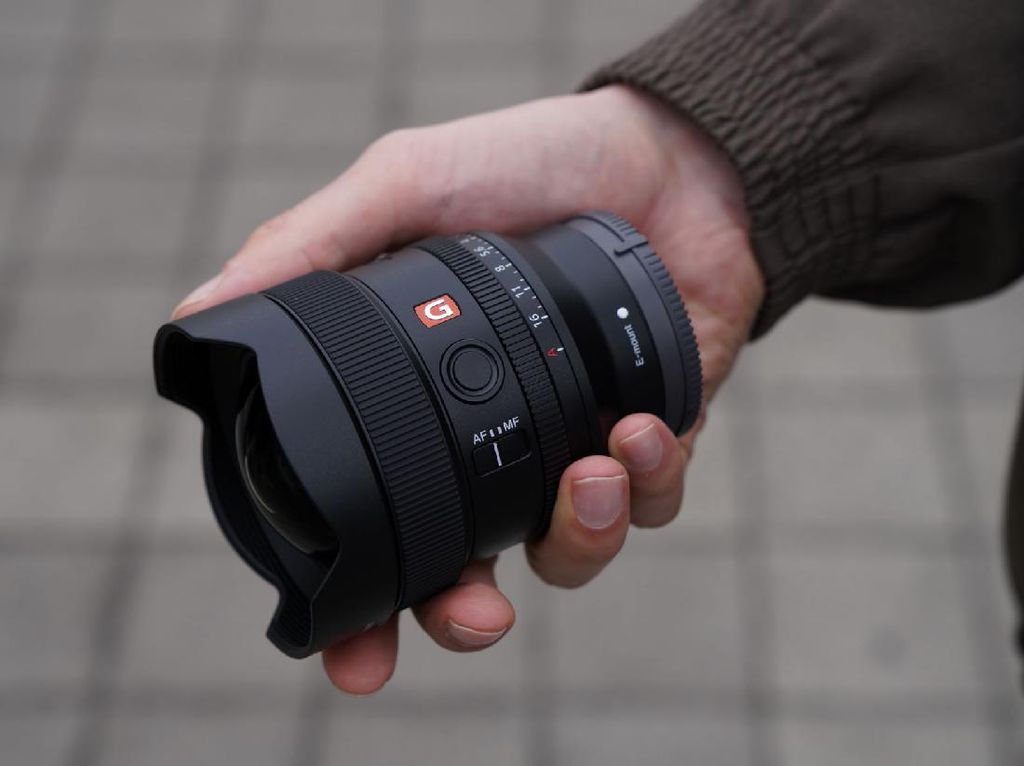 Sony FE 14mm F/1.8 G Master Dirilis, Harganya Rp 23 Juta