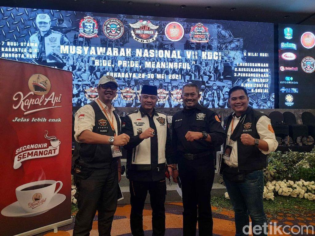 Sahlijemen Kapolri Teddy Minahasa Pimpin Harley Davidson Club Indonesia, Ini Harapannya