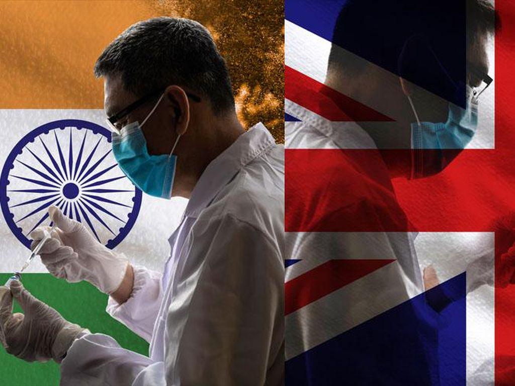 Varian Terbaru Corona Terdeteksi di Vietnam, Blasteran India-Inggris