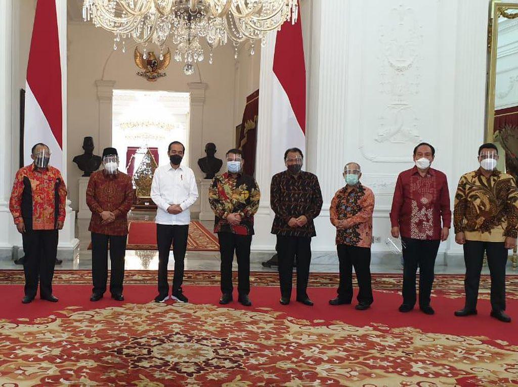 Temui Jokowi, Alumni GMNI Bahas soal Bangsa hingga Agenda Kongres