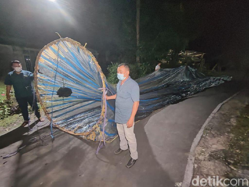 Pembuat Balon Udara yang Jatuh Dekat Bandara Solo Kini Jadi Buruan Polisi