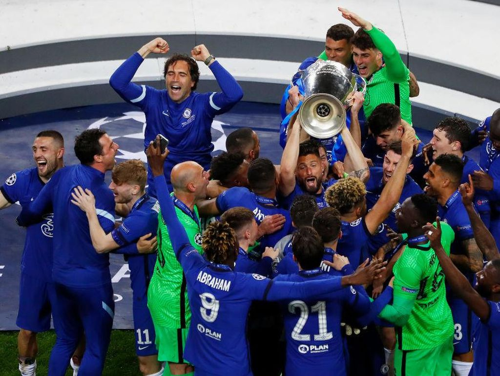 Chelsea Juara Liga Champions, Kini Bidik Juara Liga Inggris!