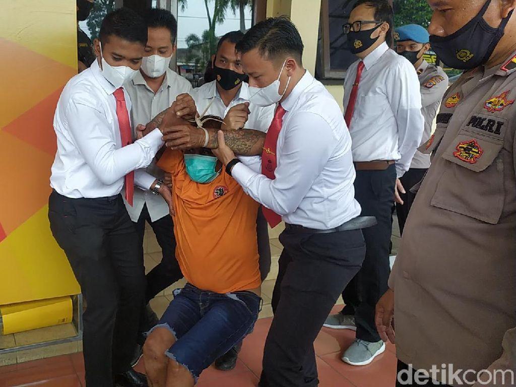 Penampakan Preman Dadang Buaya yang Pincang Didor Polisi
