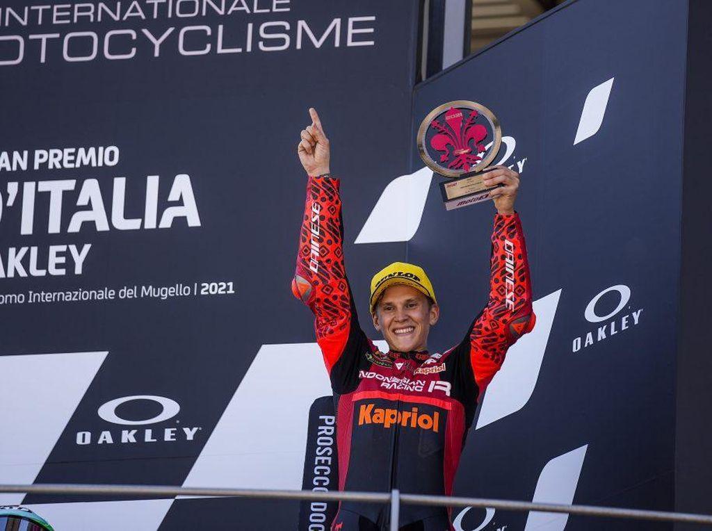 Moto3 Italia: Indonesia Racing Team Podium Ketiga, Semoga Lebih Baik Lagi