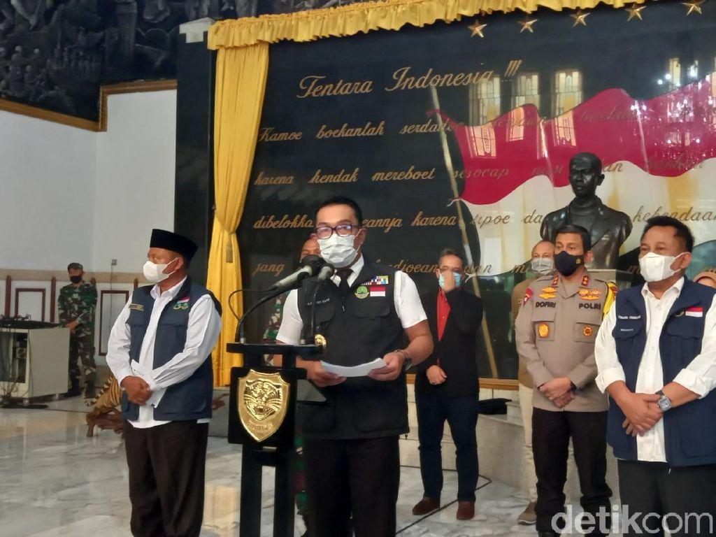 Kasus COVID-19 di Jabar Naik, Ridwan Kamil: Siaga Satu
