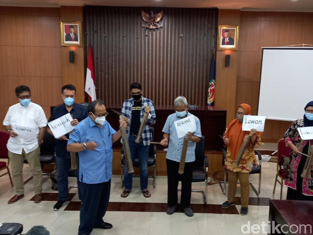 Dari Yogya, Busyro dkk Minta Jokowi Batalkan TWK KPK: Khianati Reformasi!