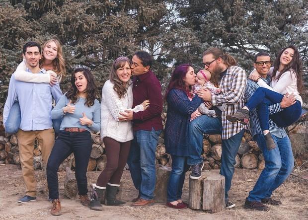Keluarga besar yang harmonis