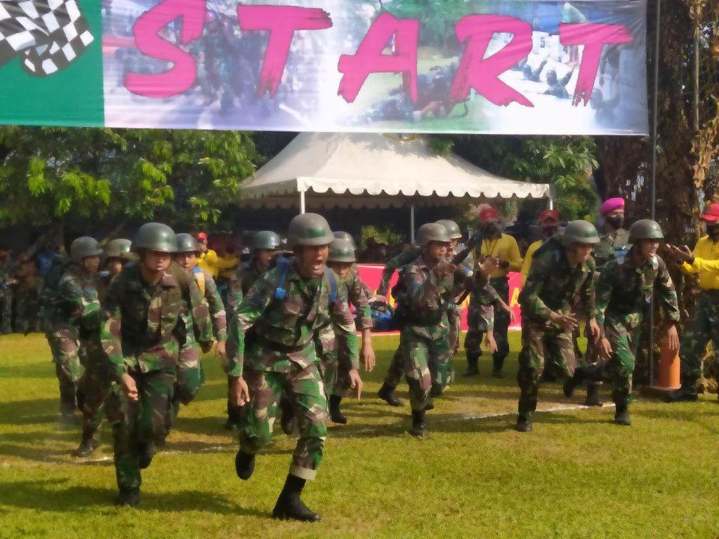 Korps Marinir Bina Kemampuan Perang Prajurit Lewat Lomba Pentathlon