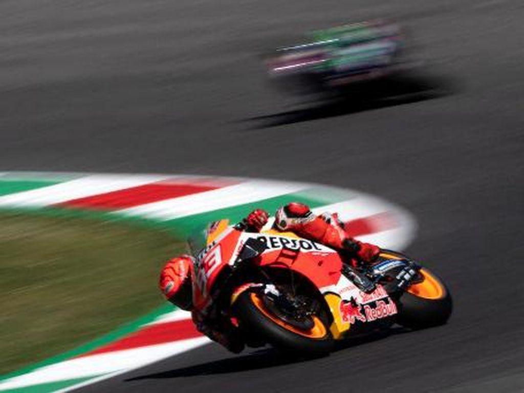 Marc Marquez Habis Jatuh Lagi, Bisa Race atau Tidak di MotoGP Catalunya?