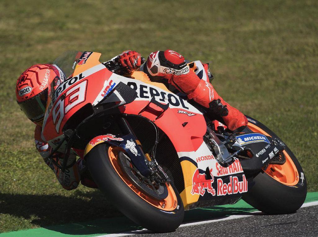 Marquez soal Crash di MotoGP Italia: Untung Rider Lain Tak Ikut Jatuh