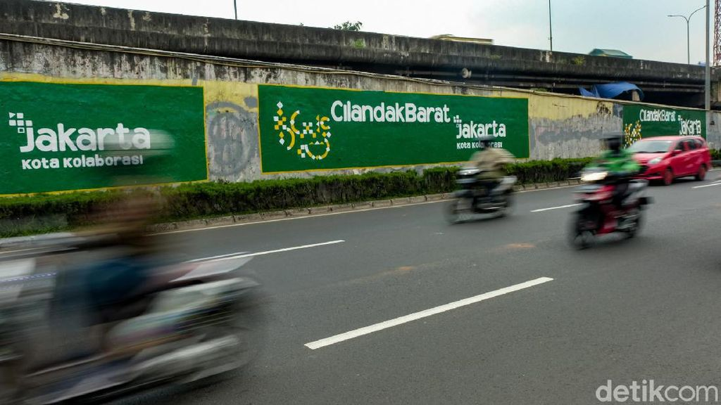 Mural Jakarta Kota Kolaborasi Mejeng di Jaksel