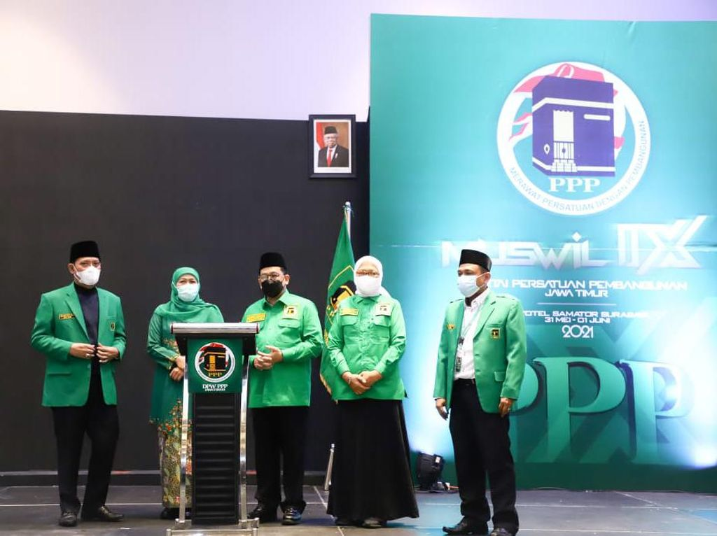Khofifah Sanjung PPP Dibutuhkan Indonesia, Sinyal Pendekatan untuk Pilpres?