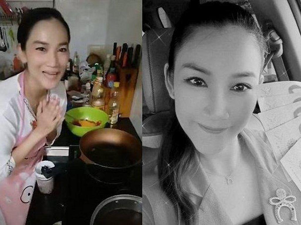 Nahas! Wanita Ini Ambruk Lalu Tewas Saat Live Streaming di Dapur