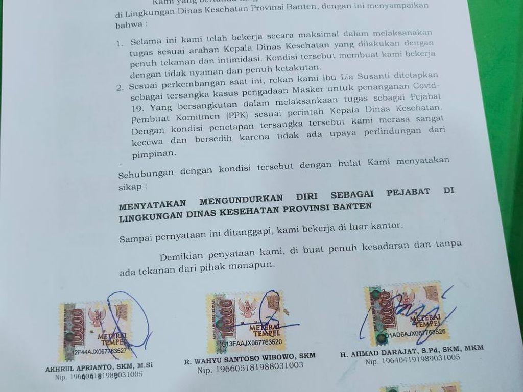 Ini Kata Pakar soal Mundurnya 20 Pejabat Dinkes Banten