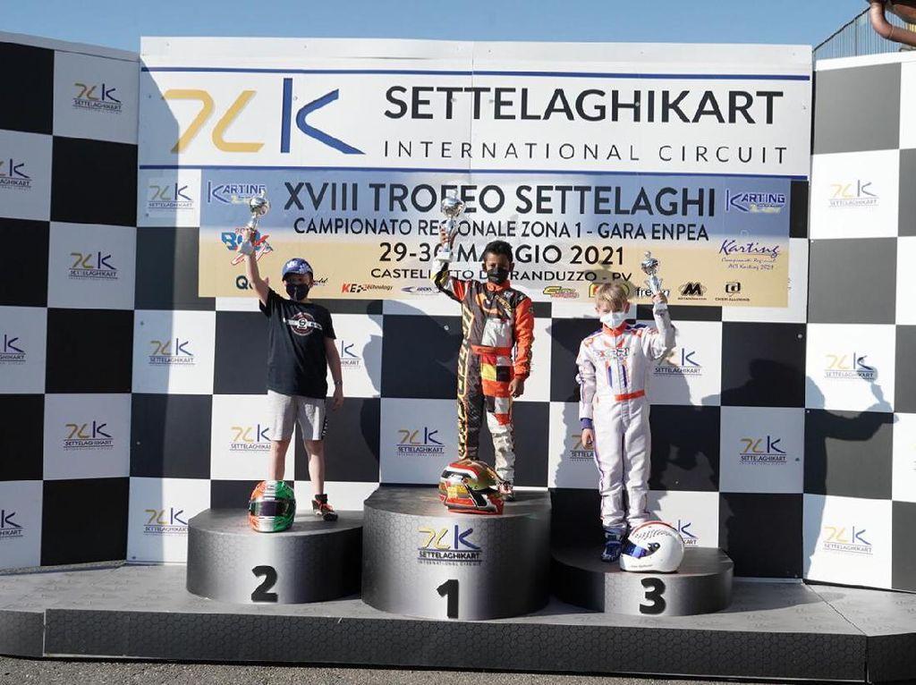Top, Pegokar Cilik Indonesia Juara di Italia