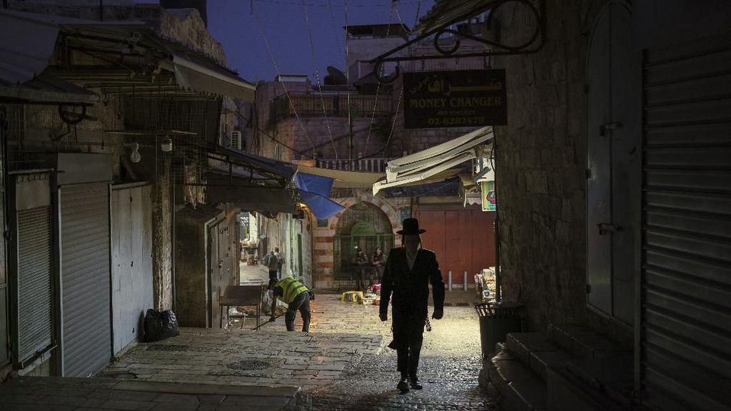 Sepinya Kota Tua Yerusalem Pasca Gencatan Senjata Israel-Hamas