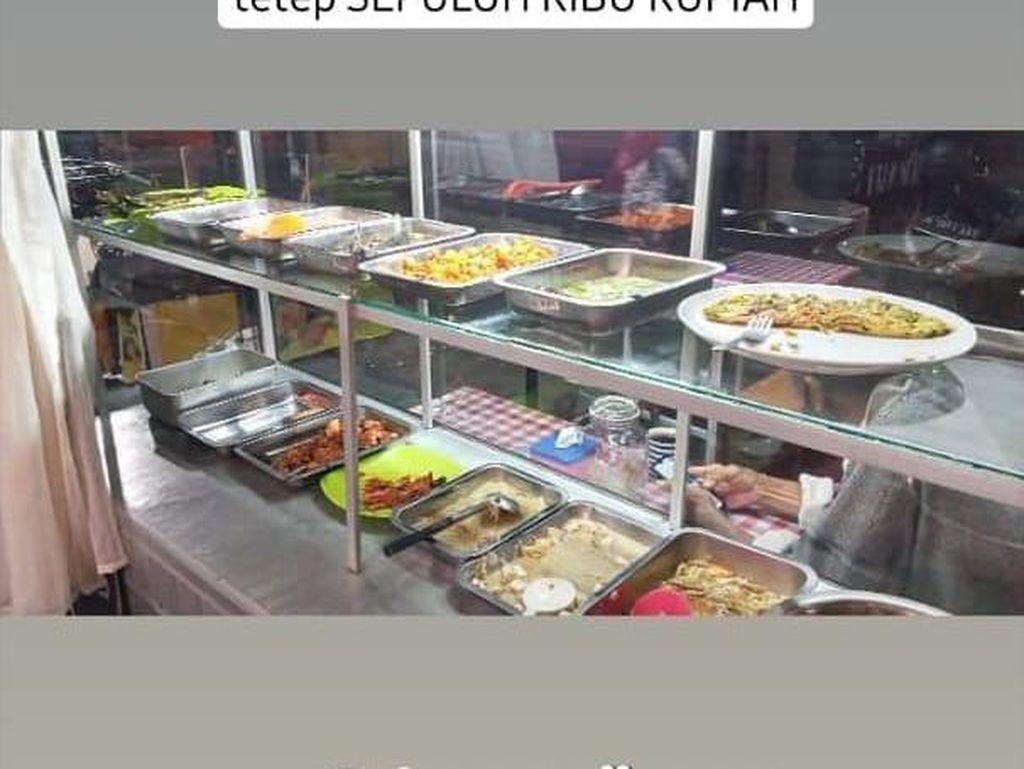 Anti Getok Harga, 5 Warung Makan Ini Tawarkan Harga Rp 10.000 per Porsi