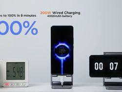 Wusss.... Teknologi Charging Xiaomi 8 Menit Baterai Langsung Full