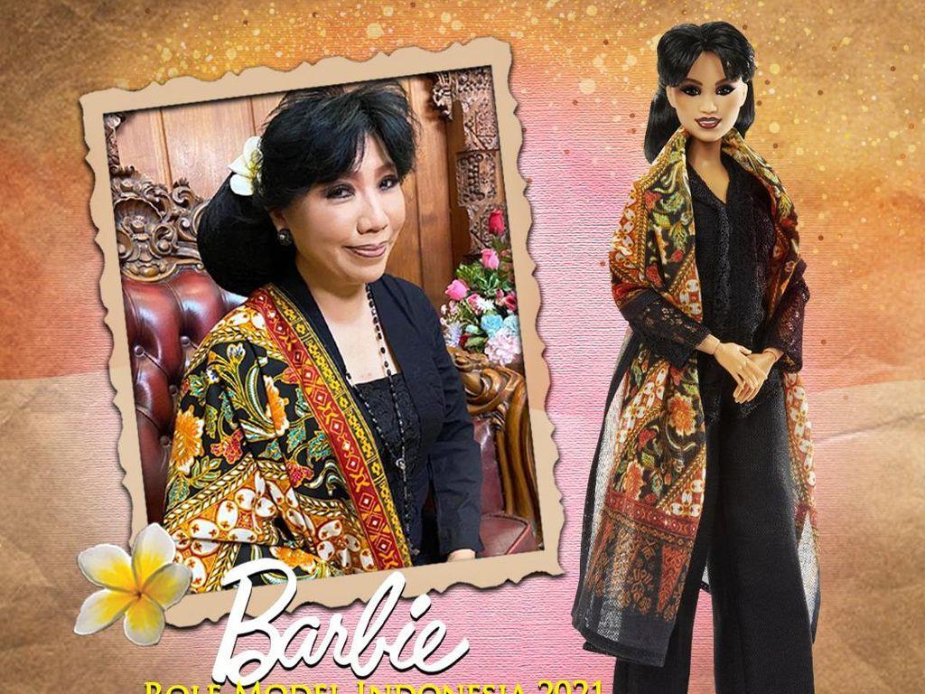 Inspiratif, Anne Avantie Jadi Barbie Role Model Indonesia Pertama di Dunia