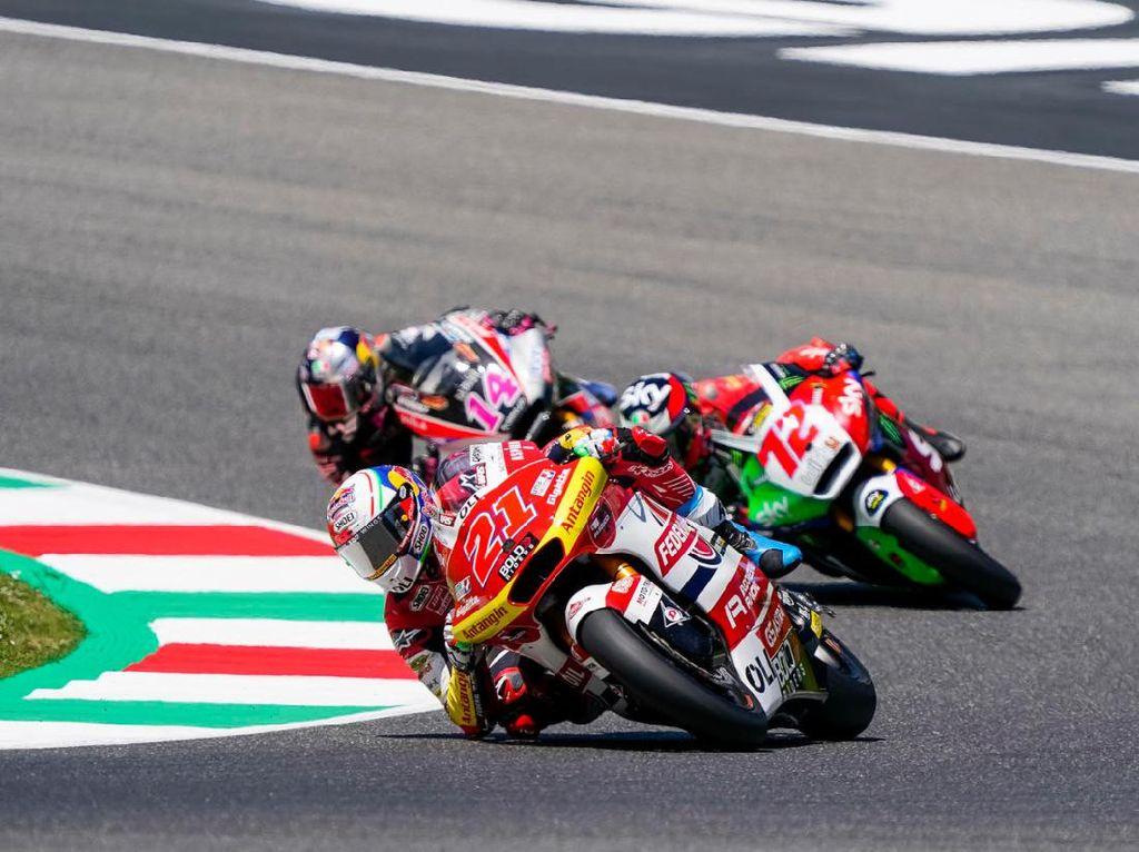 Hasil Tim Indonesia di Moto2 Italia: 1 Rider Raih Sebiji Poin
