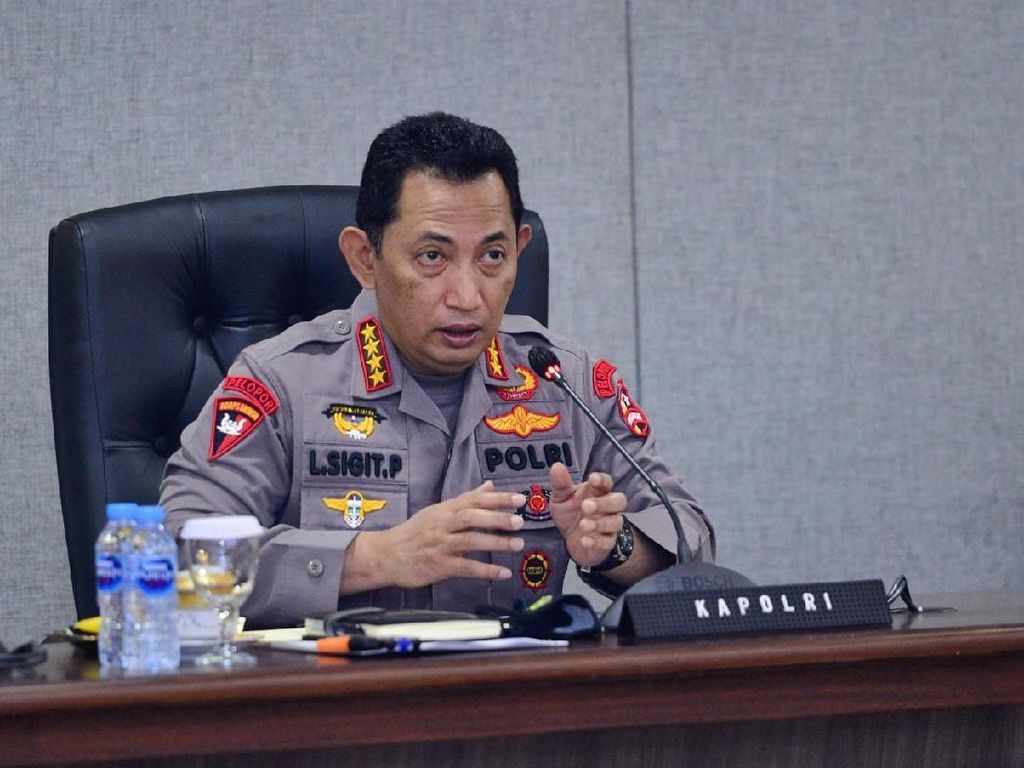 Kapolri Pastikan Kasus Unlawful Killing Laskar FPI Terus Berjalan