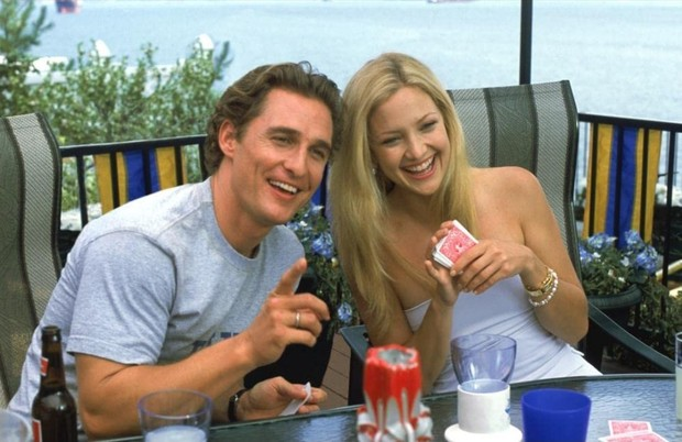 Matthew McConaughey dan Kate Hudson dalam How to Lose a Guy in 10 Days